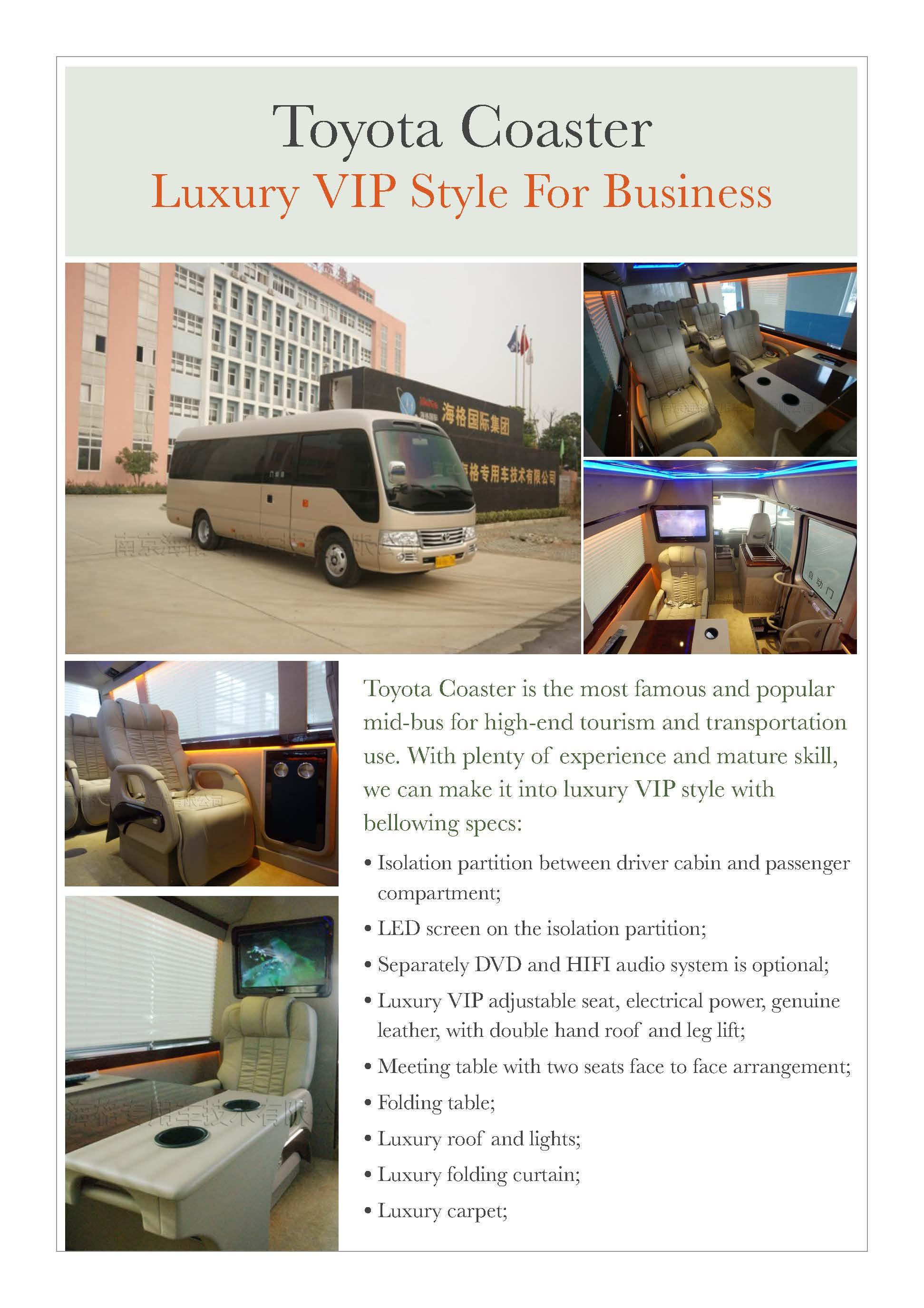 Toyota Coaster VIP 01